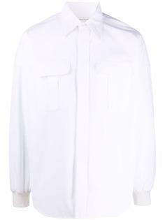 Alexander McQueen рубашка с карманами