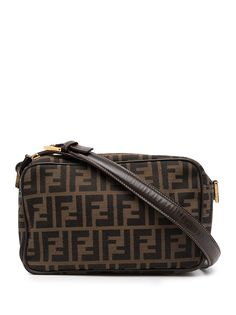 Fendi Pre-Owned сумка на плечо с узором Zucca