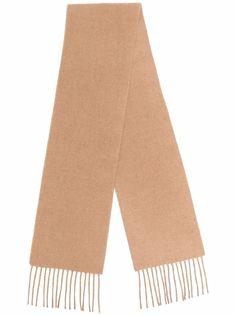 Dsquared2 шарф с бахромой