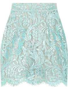 Dolce & Gabbana кружевная мини-юбка