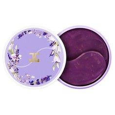 Успокаивающие патчи для век с лепестками лаванды Jayjun Lavender Tea Eye Gel Patch, 60 шт (30 пар)