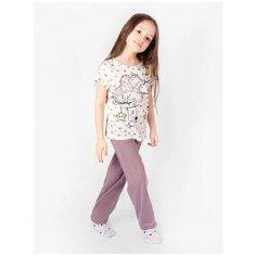 Пижама RICH LINE размер 110, пудра