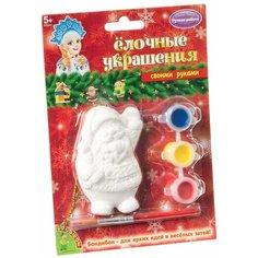 BONDIBON Набор для росписи Елочные украшения Дед мороз (ВВ1663)