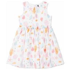 Платье crockid Морская шкатулка размер 98, сахар