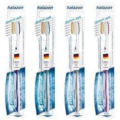 Зубная щетка One Drop Only Halazon Inter-Dent medium-soft. Цвет-синий
