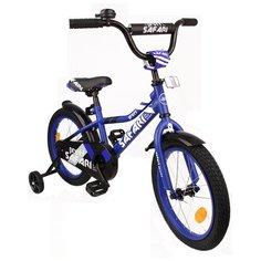 """Велосипед 16"""" SAFARI proff URBAN двухколесный, синий"""