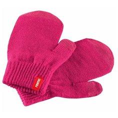 Варежки Renn Reima, розовый, размер 1