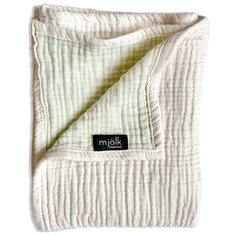 Одеяло Mjolk Муслиновое 120х100 см пудра