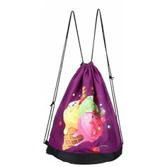 Grizzly Мешок для обуви (OM-001) фиолетовый