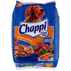 Сухой корм для собак Chappi Мясное изобилие, мясное ассорти, с овощами, с травами 600 г