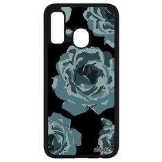 Чехол на смартфон Самсунг Галакси A40 оригинальный дизайн Цветы Flower Аромат Utaupia