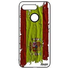 """Чехол на смартфон Honor V20 / View 20, """"Флаг Испании на ткани"""" Государственный Страна Utaupia"""