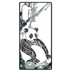"""Чехол на смартфон Samsung Galaxy Note 10, """"Панда"""" Panda Большая Utaupia"""