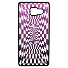 Чехол самсунг Галакси A3 2016 оригинальный дизайн Иллюзия шахмат Движение Зеркало Utaupia