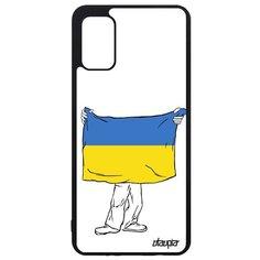 "Чехол на смартфон Samsung Galaxy A41, ""Флаг Украины с руками"" Патриот Путешествие Utaupia"