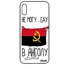 """Чехол на смартфон Honor 8A, """"Еду в Анголу"""" Страна Путешествие Utaupia"""