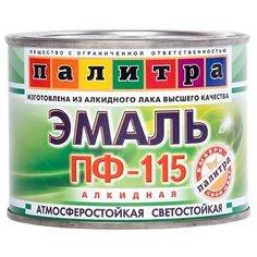 Эмаль пентафталевая / алкидная (ПФ) Палитра ПФ-115 черный 0.4 кг