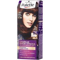 Palette Интенсивный цвет Стойкая крем-краска для волос, LW3 6-68 Горячий шоколад