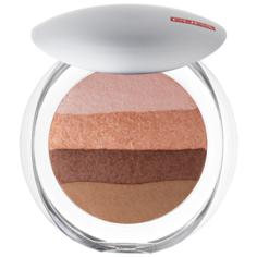 Pupa Luminys Румяна-пудра-иллюминатор Baked All Over Illuminating Blush-Powder 02 stripes natural