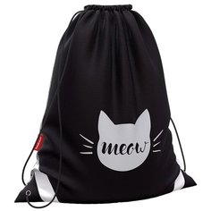 ErichKrause Мешок для обуви Meow (48351) черный/белый