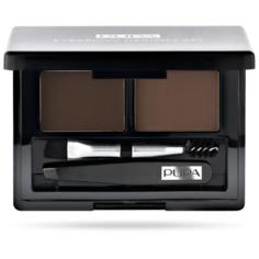 Pupa Набор для бровей Eyebrow Design Set 003 dark brown