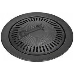 Сковорода-гриль Vitesse VS-2383, 33 см, съемная ручка, черный