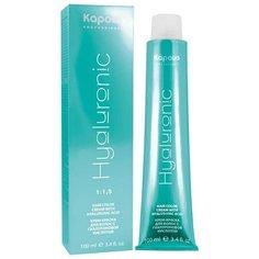 Kapous Professional Hyaluronic Acid Крем-краска для волос с гиалуроновой кислотой, 6.66 темный блондин красный интенсивный, 100 мл