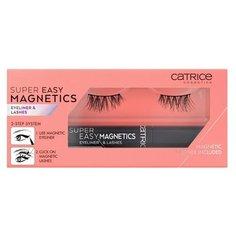 Подводка и накладные ресницы Catrice Super Easy Magnetics Eyeliner & Lashes т.010 Magical Volume