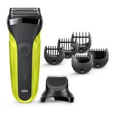 Электробритва Braun 300BT Series 3 Shave&Style, green