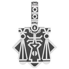 POKROVSKY Серебряная подвеска UNISEX «Весы» с чернением 0900659-00245