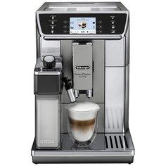 Кофемашина DeLonghi PrimaDonna Elite ECAM 650.55.MS, металл/черный