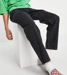 Черные джинсы широкого кроя New Look-Черный цвет