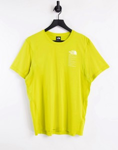 Зеленая футболка The North Face Glacier-Зеленый цвет