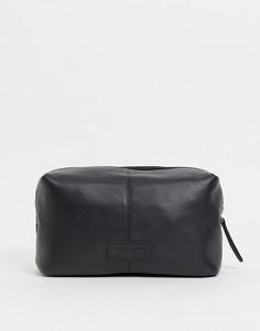 Кожаный несессер Urbancode-Черный цвет