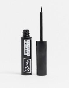Стойкая жидкая подводка для глаз Sleek MakeUP – 48HR Liquid Liner (черный)-Черный цвет