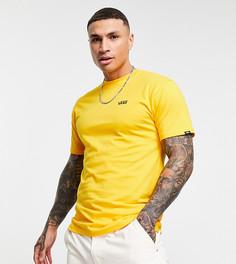 Футболка желтого цвета с маленьким логотипом Vans – эксклюзивно для ASOS-Желтый