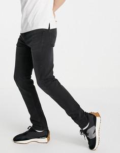 Зауженные джинсы выбеленного черного цвета Levis 510-Черный Levis®