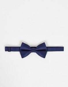 Темно-синий галстук-бабочка ASOS DESIGN