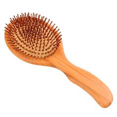 Массажная щетка для волос, расческа из натурального дерева, 24x10,5 см, VenusShape