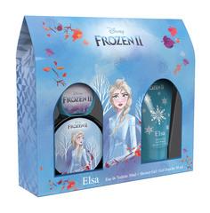 Набор Disney Frozen 2 Elsa Туалетная вода 50 мл + Гель для душа 50 мл