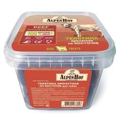 Лакомство для собак AlpenHof Телятина ароматная на косточке 450гр