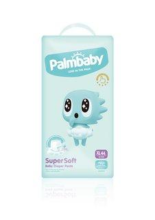 Подгузники-трусики детские Palmbaby Super Soft Premium XL 12-17кг, 44 шт
