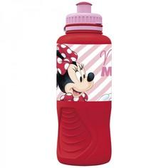 Бутылка пластиковая (спортивная, эргономичная, 400 мл). Минни Электрическая кукла Disney
