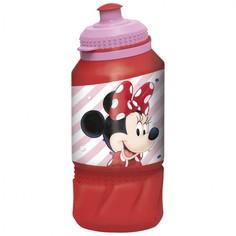 Бутылка пластиковая (спортивная 420 мл). Минни Электрическая кукла Disney