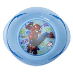Миска пластиковая с ручками для СВЧ Человек-паук Граффити 280163 Disney