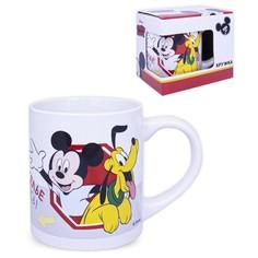 Кружка в подарочной упаковке 220 мл Микки Маус Дизайн 1, фарфор 293855 Disney