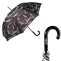 Зонт женский Jean Paul Gaultier 1312-LA Ecritues Noir