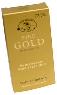 Сливочное масло Fine Gold 72,5% 120 г