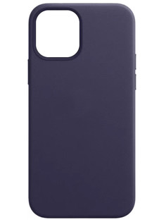 Чехол для APPLE iPhone 12 / 12 Pro Leather with MagSafe Deep Violet MJYR3ZE/A