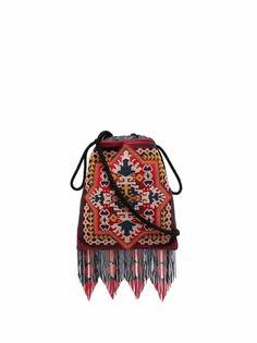 Etro сумка-сэтчел с бахромой